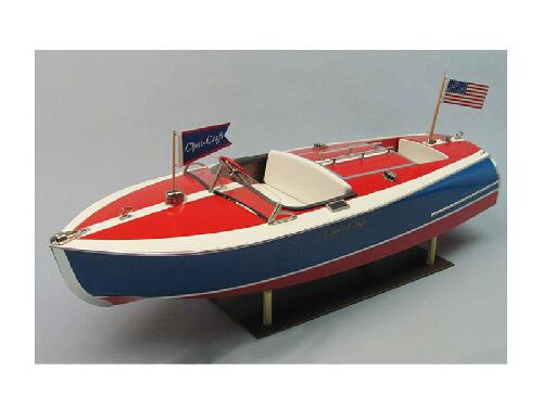 DUMAS BOATS ds1263 Chris-Craft Sportboot 16 ft. Painted Racer Bausatz