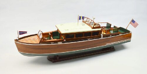 DUMAS BOATS ds1273 Chris Craft Commuter 1929 1:12  RC-Bausatz