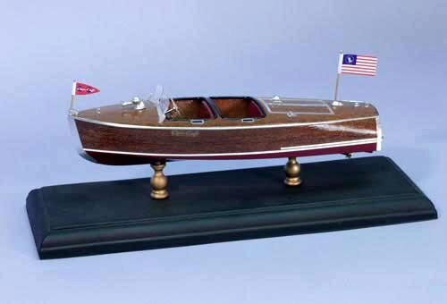 DUMAS BOATS ds1705 Chris-Craft Barrel Back 1940 1:24 Bausatz