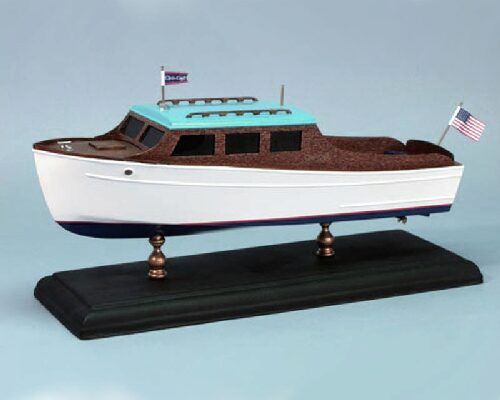 DUMAS BOATS ds1706 Chris-Craft Streamline Cruise 1935 1:24 Bausatz