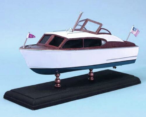 DUMAS BOATS ds1707 Chris-Craft 24 ft. Sedan Cruiser 1956 Bausatz