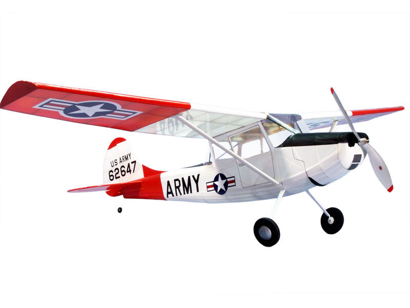 DUMAS AIRCRAFT ds1804 L-19 Bird Dog EP Lasercut Bausatz