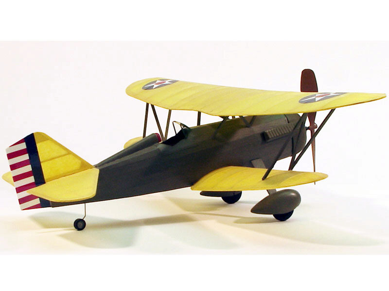 DUMAS AIRCRAFT ds219 Curtiss P-6E Hawk Balsabausatz