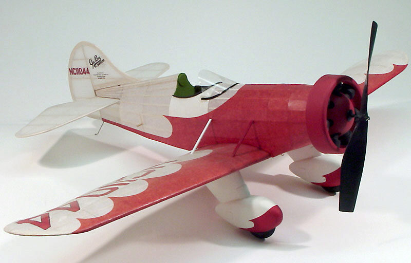 DUMAS AIRCRAFT ds302 Gee Bee Model E Balsabausatz