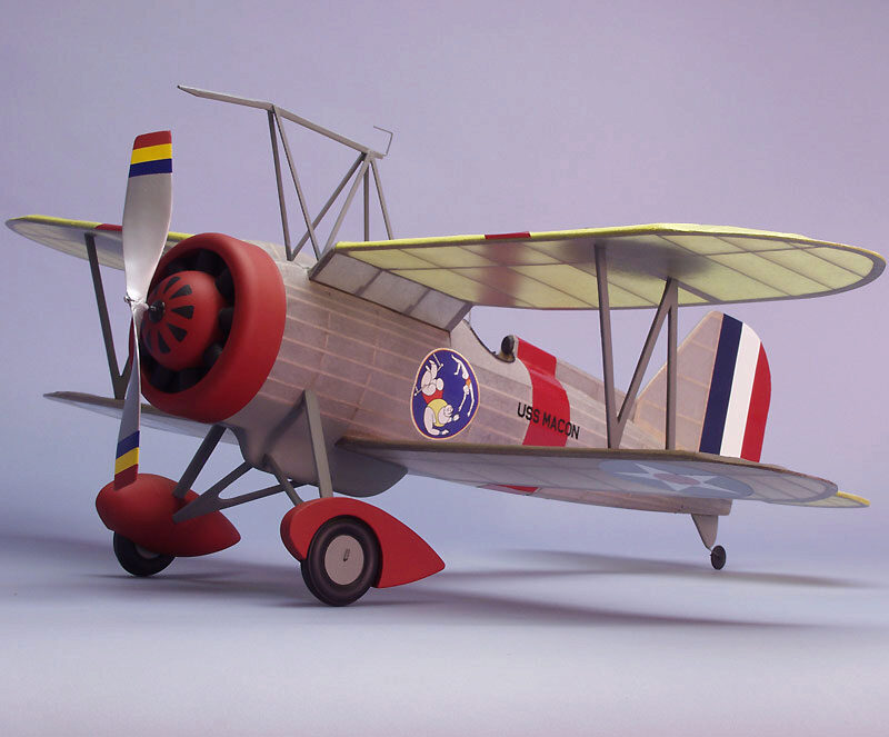 DUMAS AIRCRAFT ds319 Curtiss F9C-2 Sparrowhawk Balsabausatz