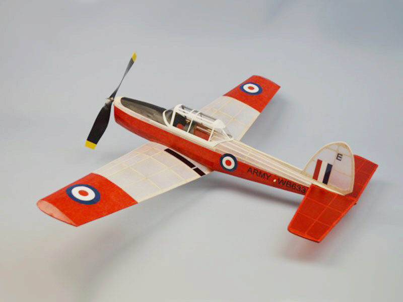 DUMAS AIRCRAFT ds335 DeHavilland Chipmunk Balsabausatz