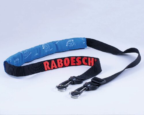 RABOESCH rb109-02 Sendertrageriemen Double Hook