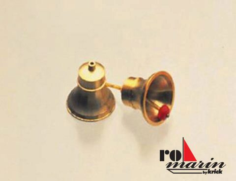 ROMARIN ro1353 Schiffsglocke Messing 14 mm  (VE2)