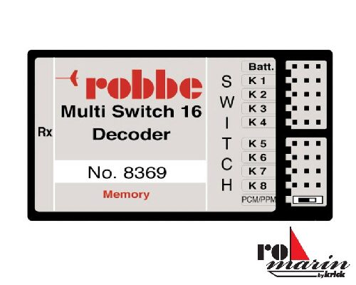 ROMARIN ro8369 Multi-Switch 16 Decoder Memory