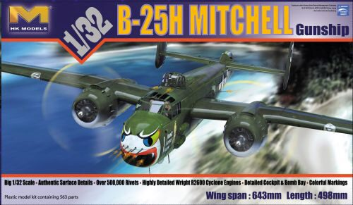 HK Models 01E02 B-25J Mitchell 'Strafer'