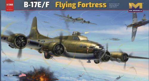 "HK Models 01E05 B-17E/F ""Flying Fortress"""