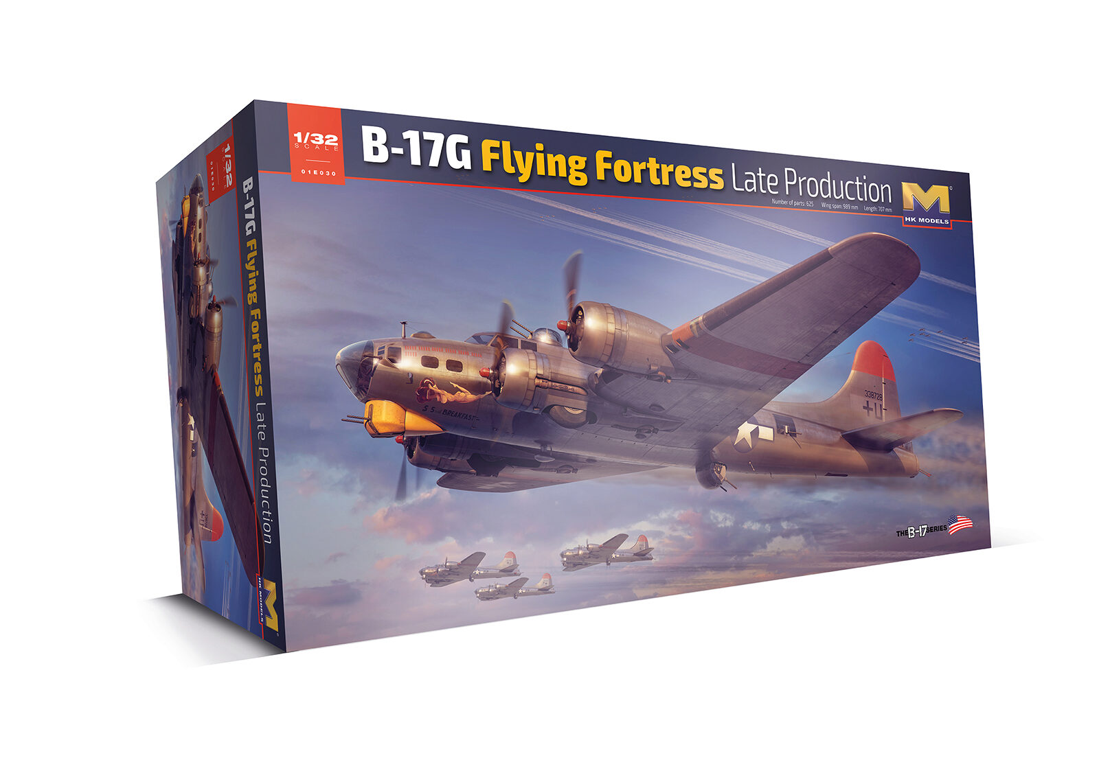 HK Models 01E30 B-17 Flying Fortress G - New Edition