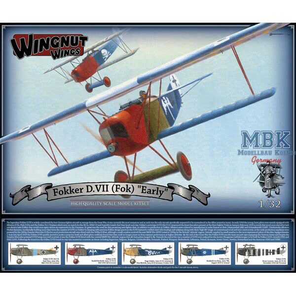 Wingnut Wings 32067 Fokker D.VII  early
