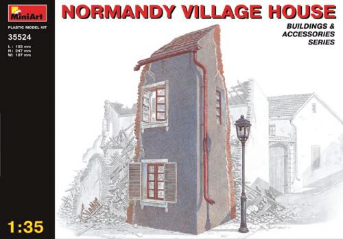 MiniArt 35524 Dorfhaus in der Normandie