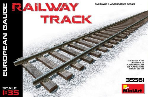 MiniArt 35561 Railway Track (European Gauge)
