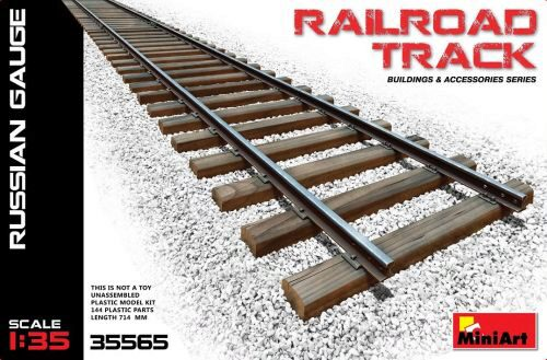 MiniArt 35565 Railroad Track (Russian Gauge)