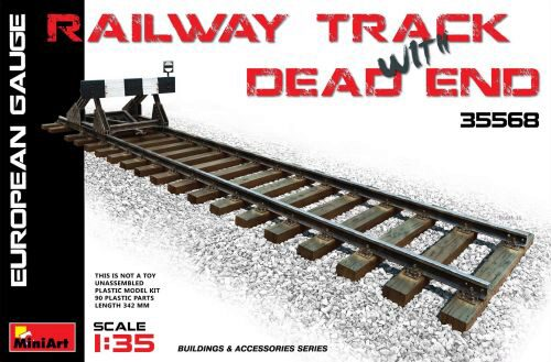 MiniArt 35568 Railway Track & Dead End(European Gauge)