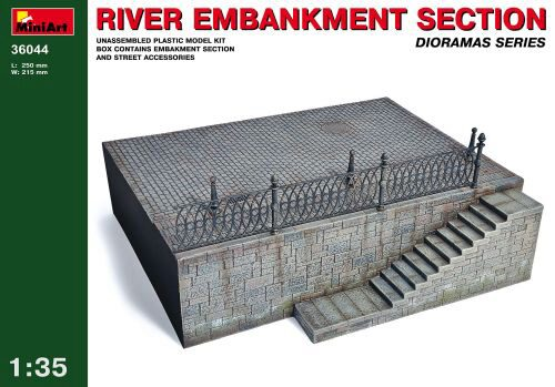 MiniArt 36044 River Embankment Section...