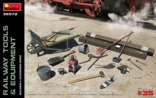 MiniArt 35572 Railway Tools & Equipment