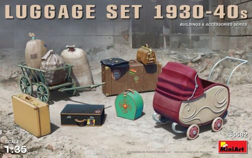 MiniArt 35582 Luggage Set 1930-40s