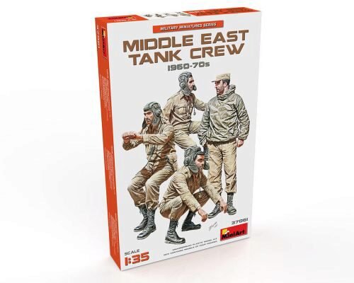 MiniArt 37061 Middle East Tank Crew 1960-70s