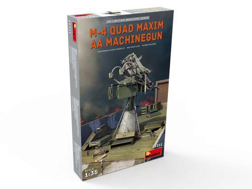MiniArt 35211 M-4 Quad Maxim AA Machinegun
