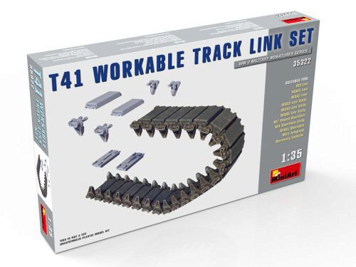 MiniArt 35322 T41 Workable Track Link Set