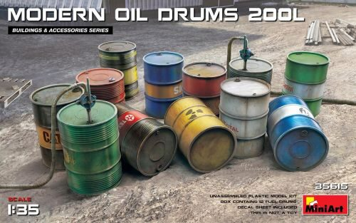 MiniArt 35615 Modern Oil Drums (200l)
