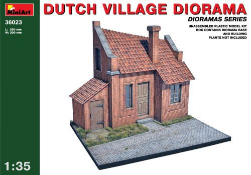 MiniArt 36023 Dutch Village Diorama