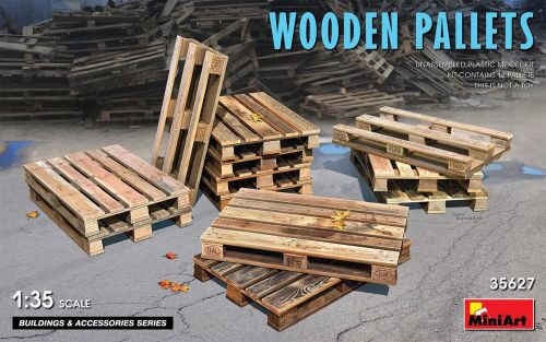 MiniArt 35627 Wooden Pallets