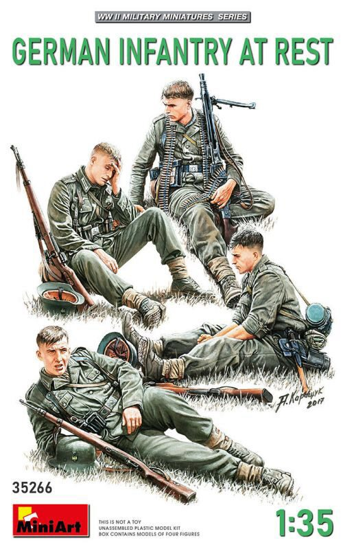 MiniArt 35266 German Infantry at Rest