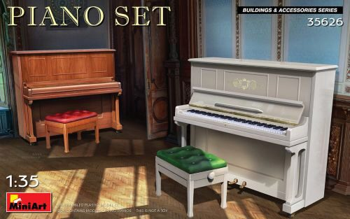 MiniArt 35626 Piano Set