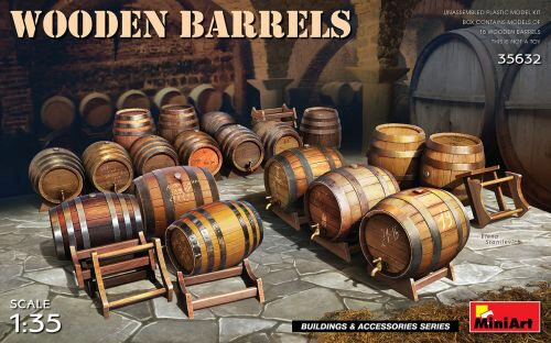 MiniArt 35632 Wooden Barrels