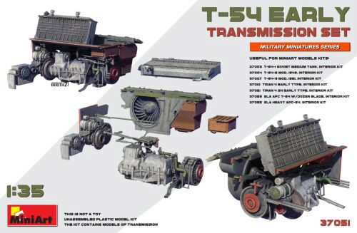 MiniArt 37051 T-54 Early Transmission Set