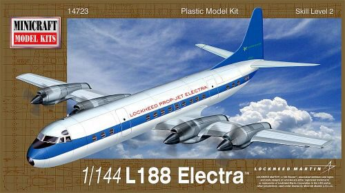 MiniCraft 584723 1/144 L-188 Electra Demonstrator