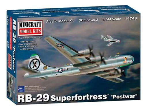 MiniCraft 584749 1/144 RB-29 Superfortress