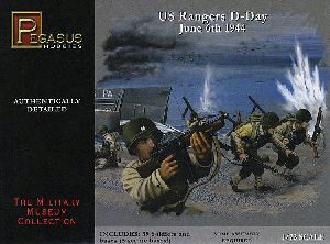 Pegasus 957351 1/72 WW II: US-Truppen, D-Day