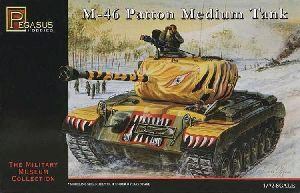 Pegasus 957506 1/72 M46 Patton Medium Tank