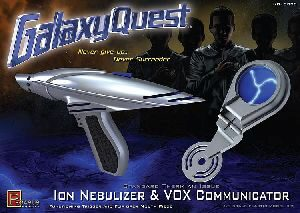 Pegasus 959003 1/1 Galaxy Quest Ion Nebulizer& Vox Communicator Kit