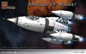 Pegasus 959101 1/72 Apollo 27 Rocket Ship