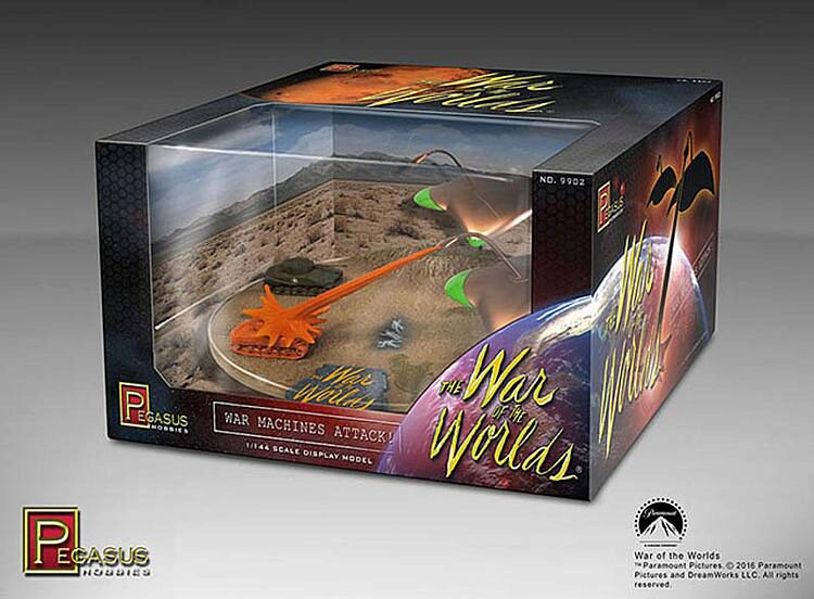Pegasus 959902 1/144 War of Worlds, Machine Attack, Fertigmodell