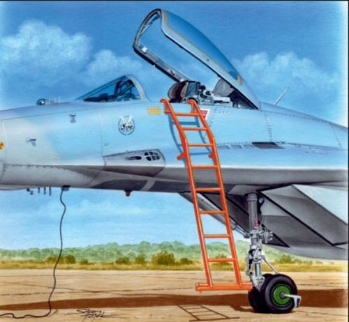 Plus model AL4087 Ladder for MiG-29
