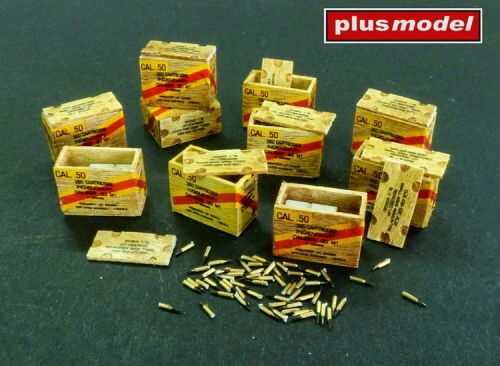 Plus model AL4083 US ammunition boxes with cartons of charges