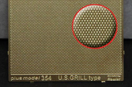 Plus model 354 Engraved plate - U.S. Grill