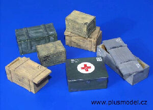 Plus model 96 Transport boxes