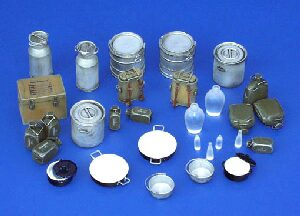 Plus model 116 Equipment of German Kitchen - Crockery, WWII