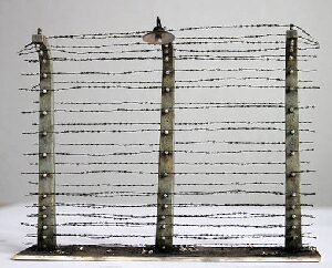 plusmodel 358 Barbed wire fence