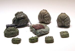 Plus model 424 German rucksacks WWII