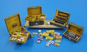 Plus model 434 German medical set