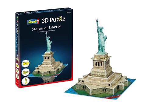 Revell 00114 Statue of Liberty Mini 3D Puzzle